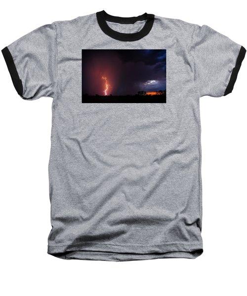 Pow Wow Dancer Baseball T-Shirt