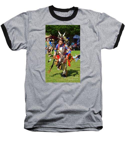 Pow Wow Warrior Baseball T-Shirt