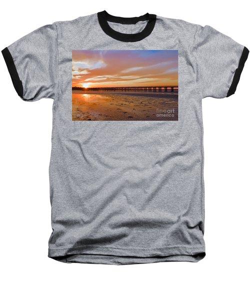 Powder Point Bridge Duxbury Baseball T-Shirt by Amazing Jules