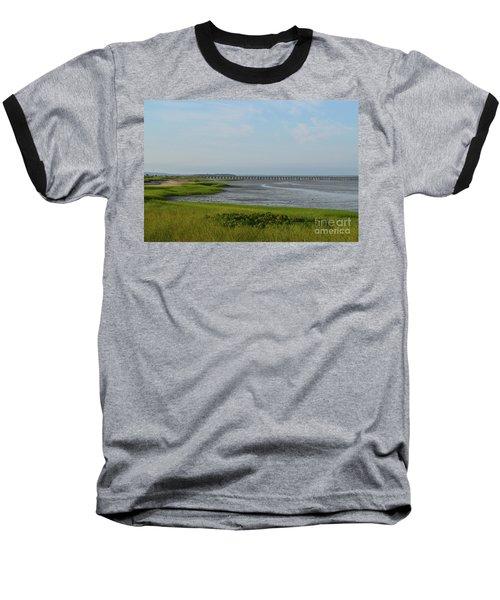 Powder Point Bridge In Duxbury  Baseball T-Shirt