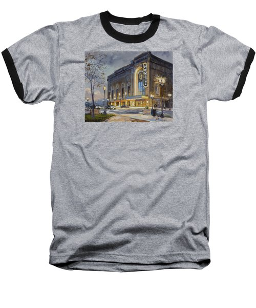 Powell Symphony Hall In Saint Louis Baseball T-Shirt by Irek Szelag