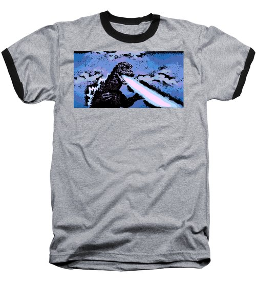 Power Blast Baseball T-Shirt by George Pedro