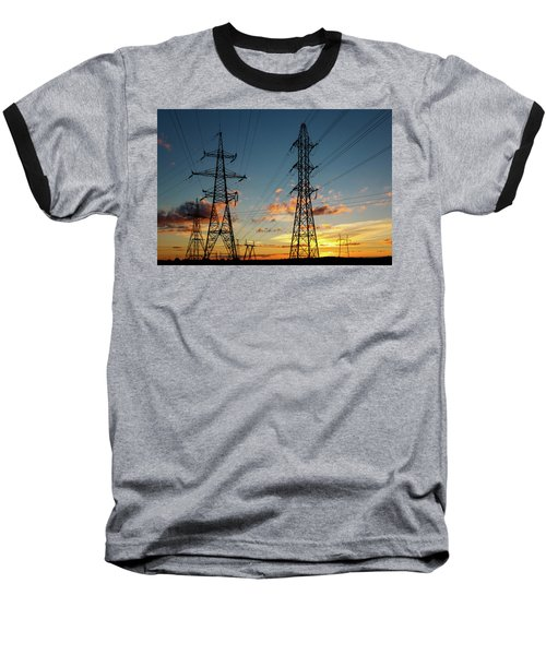 Power Cables Baseball T-Shirt