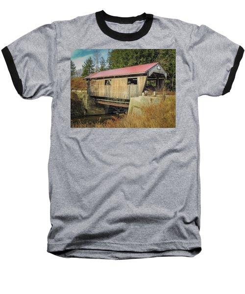 Power House Bridge Baseball T-Shirt