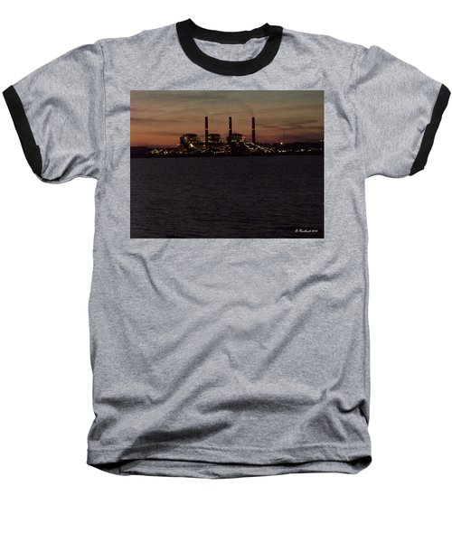 Baseball T-Shirt featuring the photograph Power In The Dark by Betty Northcutt