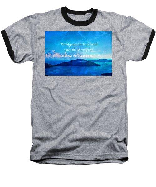 Power Of Love Baseball T-Shirt by Joan Reese