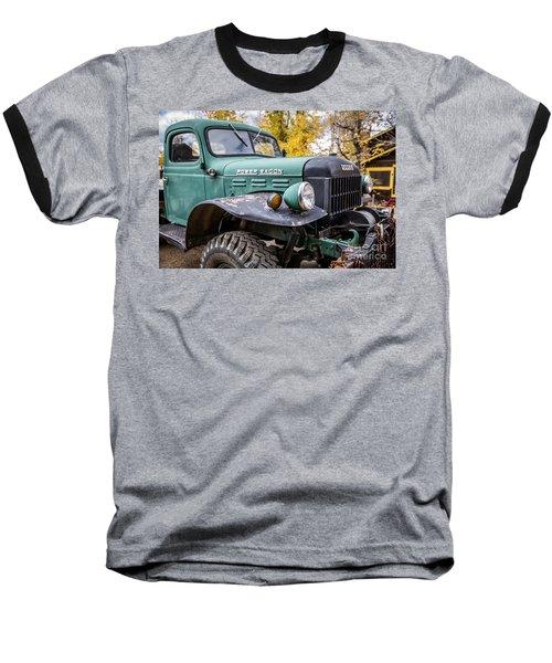 Power Wagon Baseball T-Shirt by Lynn Sprowl