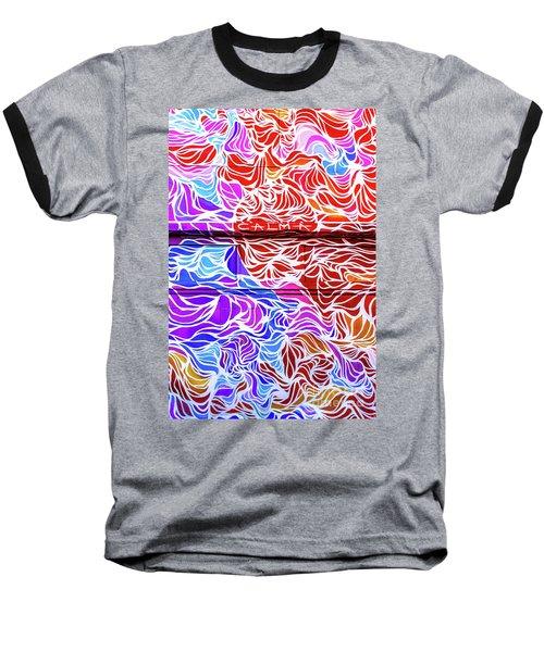 Power Waves Baseball T-Shirt
