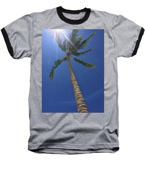 Powerful Palm Baseball T-Shirt