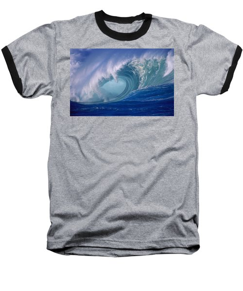 Powerful Surf Baseball T-Shirt