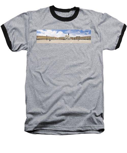 Praca Do Comercio, The Square Of Commerce Baseball T-Shirt