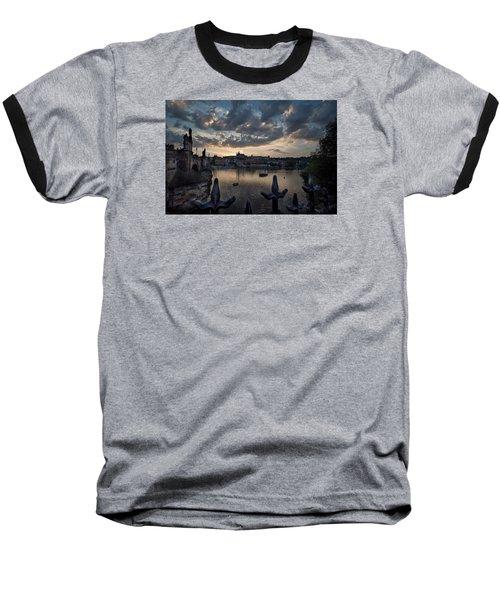Prague Castle Baseball T-Shirt
