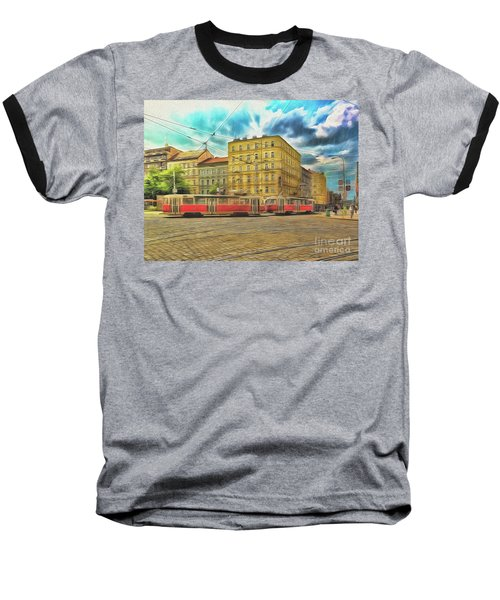 Prague Baseball T-Shirt