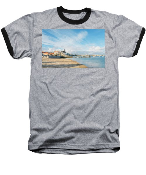 Praia Da Ribeira, Cascais, Portugal Baseball T-Shirt