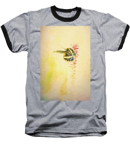 Prairie Butterfly 3 Baseball T-Shirt