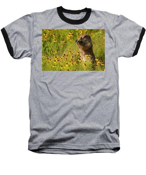 Prairie Dog Lunch Baseball T-Shirt