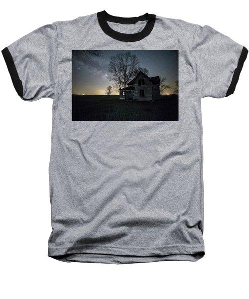Prairie Gold And Milky Way Baseball T-Shirt