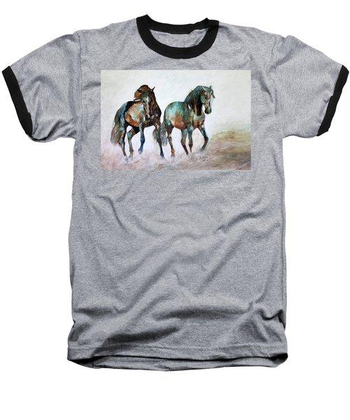 Prairie Horse Dance Baseball T-Shirt