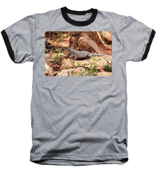 Prairie Lizard Baseball T-Shirt