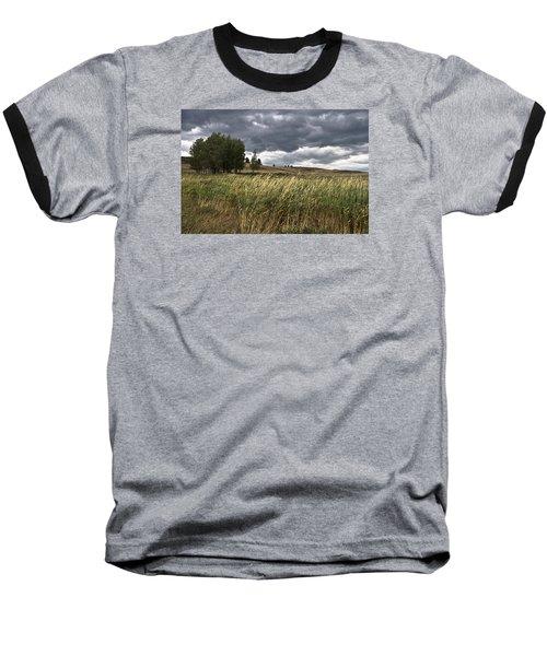 Prairie, Lost Trail Wildlife Refuge Baseball T-Shirt