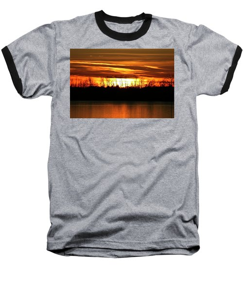 Prairie Sunset Baseball T-Shirt