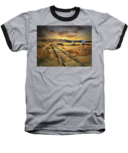 Prairie Tracks Baseball T-Shirt