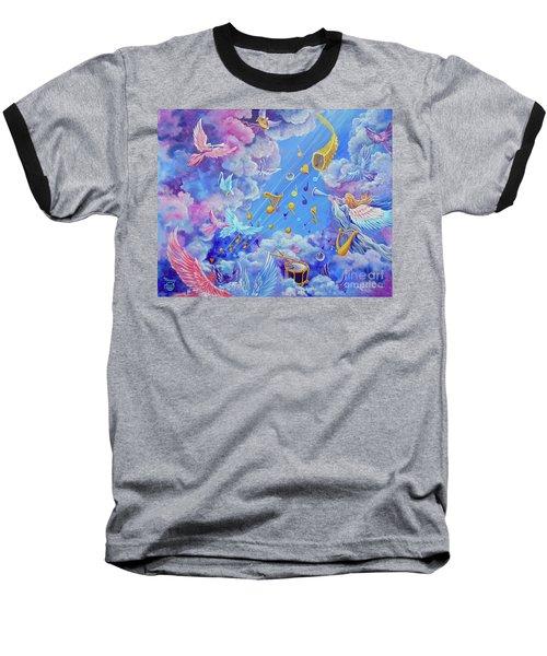 Praise Him From The Heavens Baseball T-Shirt