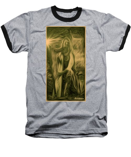 Praise Him With The Harp I Baseball T-Shirt by Anastasia Savage Ealy
