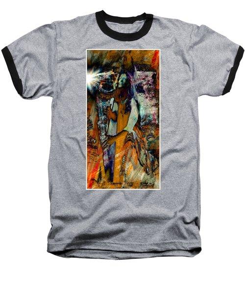Praise Him With The Harp IIi Baseball T-Shirt