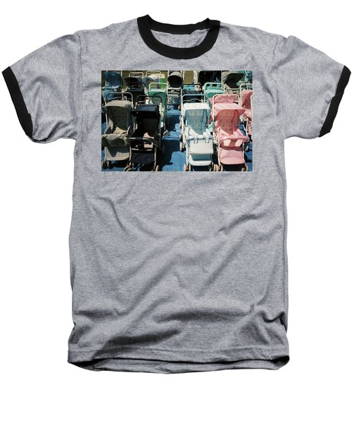 Baseball T-Shirt featuring the photograph Pram Lot by Frank DiMarco