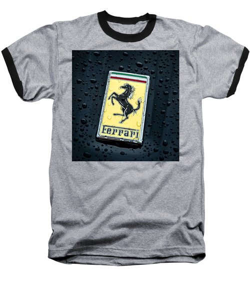 Baseball T-Shirt featuring the digital art Prancing Stallion by Douglas Pittman