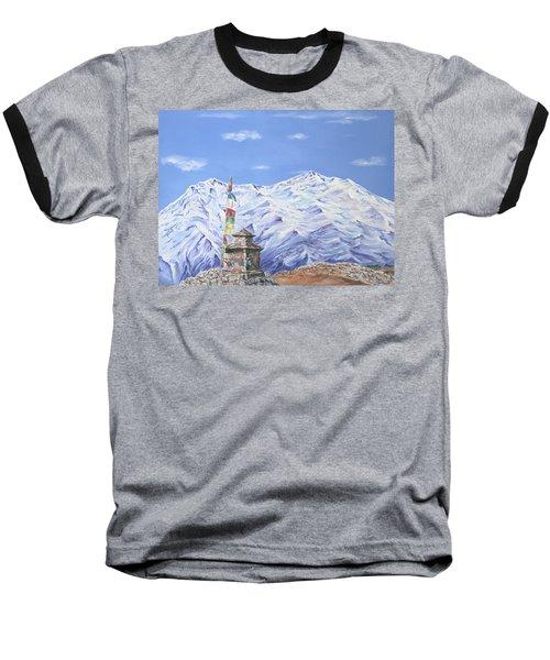 Prayer Flag Baseball T-Shirt