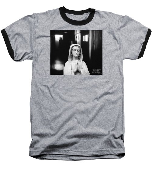 Prayer For Peace Baseball T-Shirt by Lyric Lucas