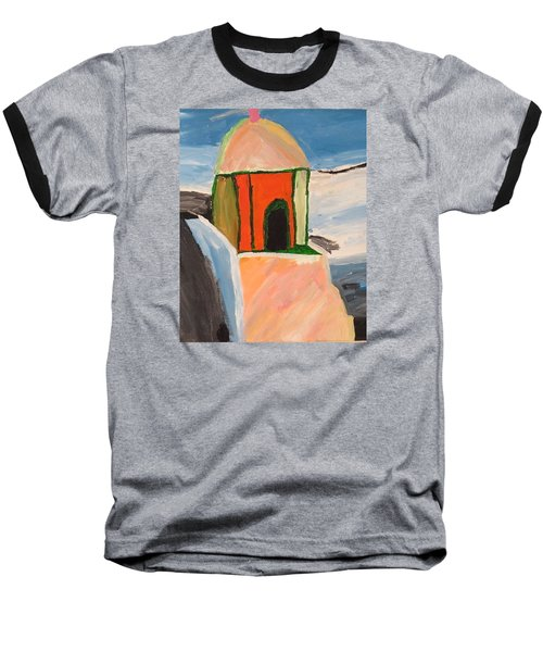 Prayer Hut Baseball T-Shirt