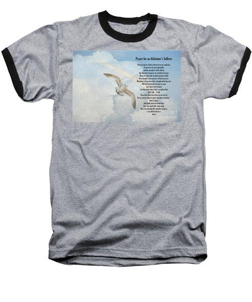 Prayer For An Alzheimer's Sufferer Baseball T-Shirt by Bonnie Barry