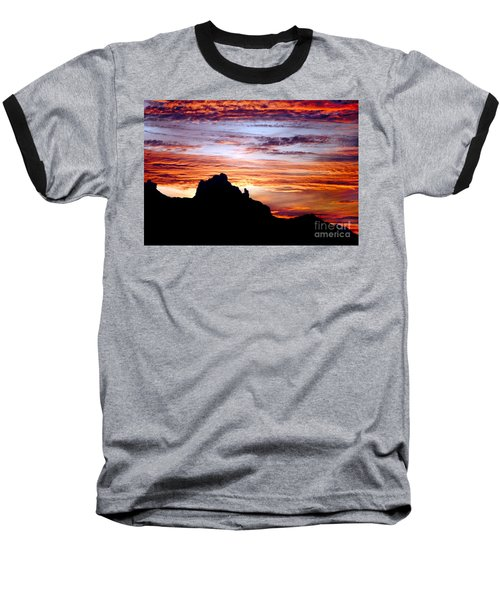 Praying Monk, Camelback Mountain, Phoenix Arizona Baseball T-Shirt