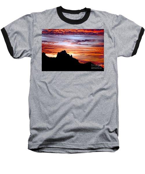 Praying Monk, Camelback Mountain, Phoenix Arizona Baseball T-Shirt