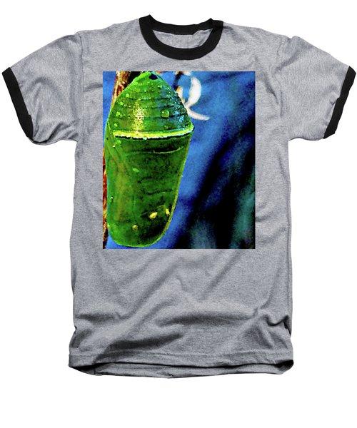 Pre-emergent Butterfly Spirit Baseball T-Shirt by Gina O'Brien