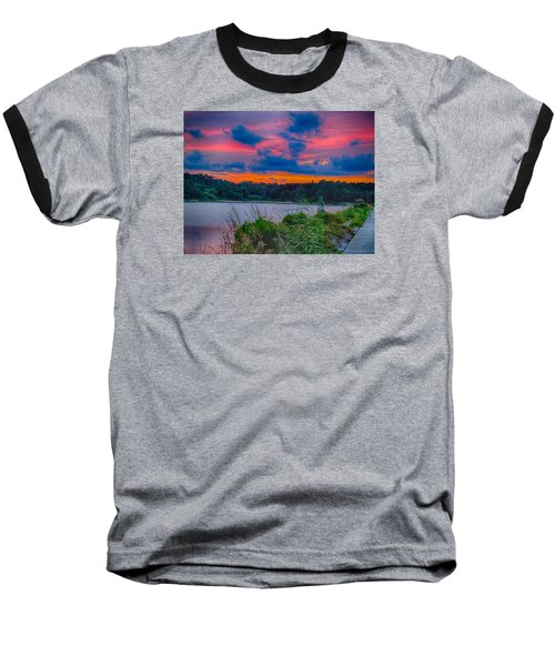 Pre-sunset At Hbsp Baseball T-Shirt