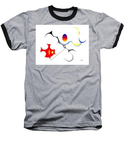 Precarious Study No, 3 Baseball T-Shirt