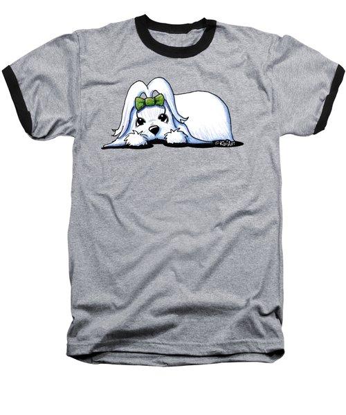 Precious Maltese Baseball T-Shirt