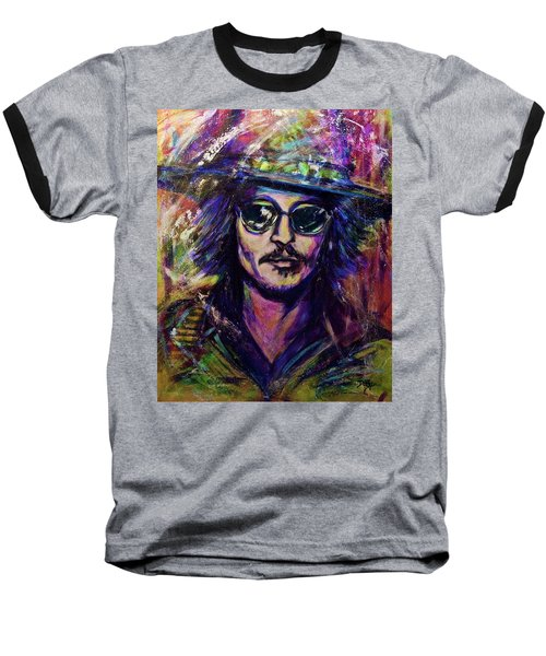Precious Metals, Johnny Depp Baseball T-Shirt