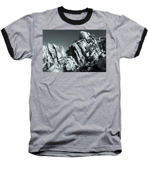 Precious Moment - Juxtaposed Rocks Joshua Tree National Park Baseball T-Shirt