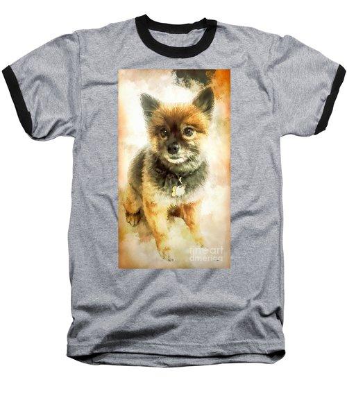 Precious Pomeranian Baseball T-Shirt