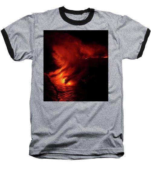 Predawn Pouroff Baseball T-Shirt by Allen Biedrzycki