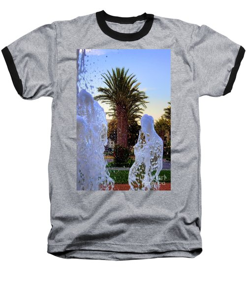 Baseball T-Shirt featuring the photograph Pregnant Water Fairy by Mariola Bitner