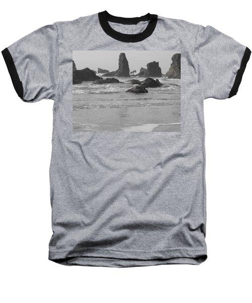 Prehistoric Shore Baseball T-Shirt