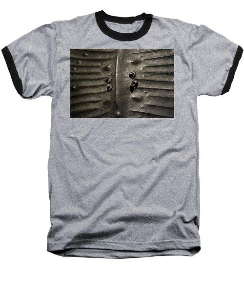 Prehistoric Turtle Shell Baseball T-Shirt