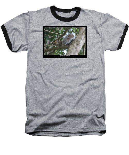 Baseball T-Shirt featuring the photograph Preparation by Robert Banach