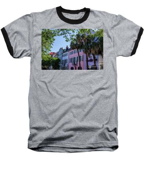 Presenting Rainbow Row  Baseball T-Shirt